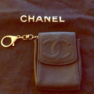 Authentic and good take care Chanel key chain